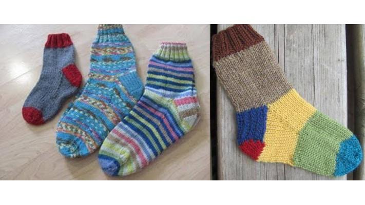 Cours de tricot sur les bas