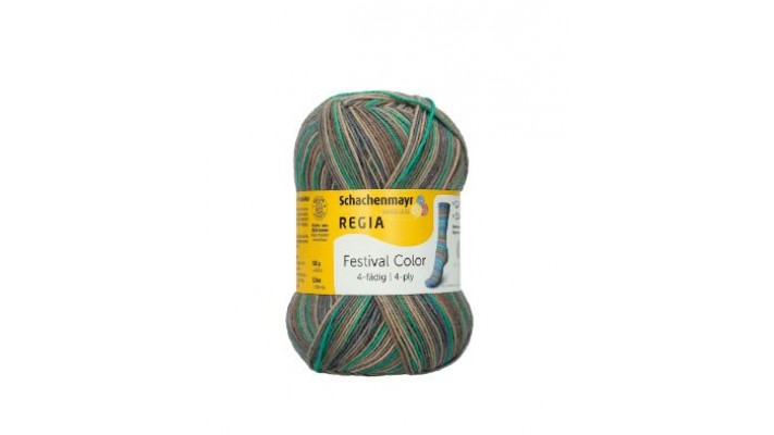 Regia 4 ply - Festival Color